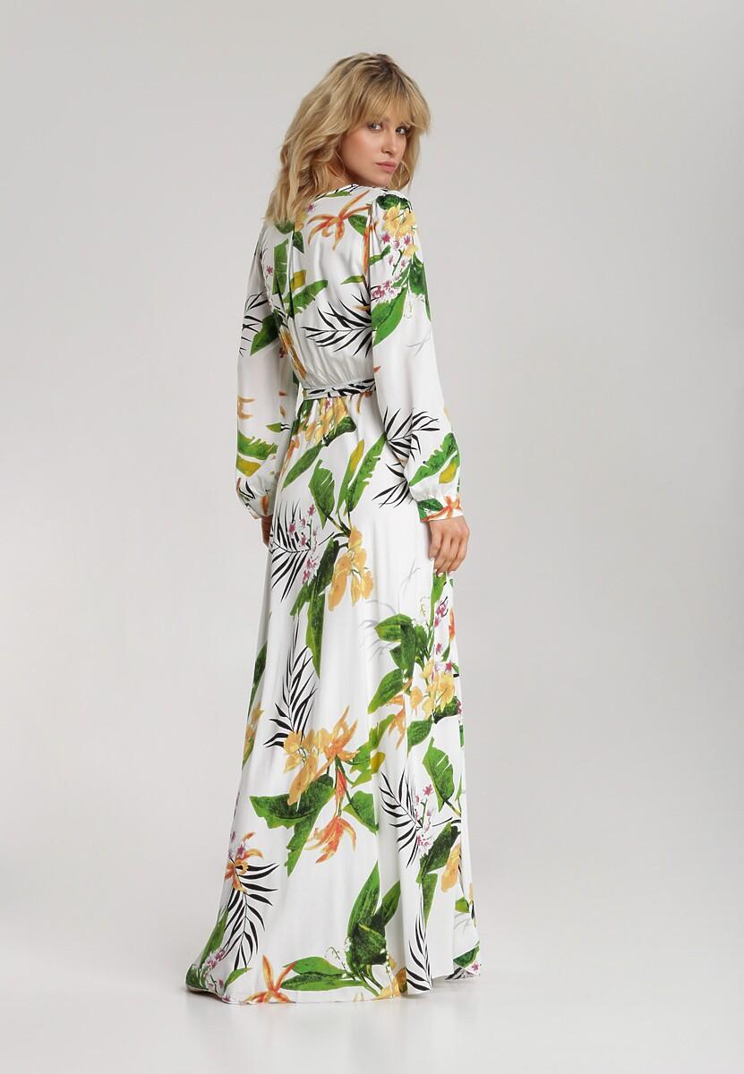 Biała Sukienka Amanaera