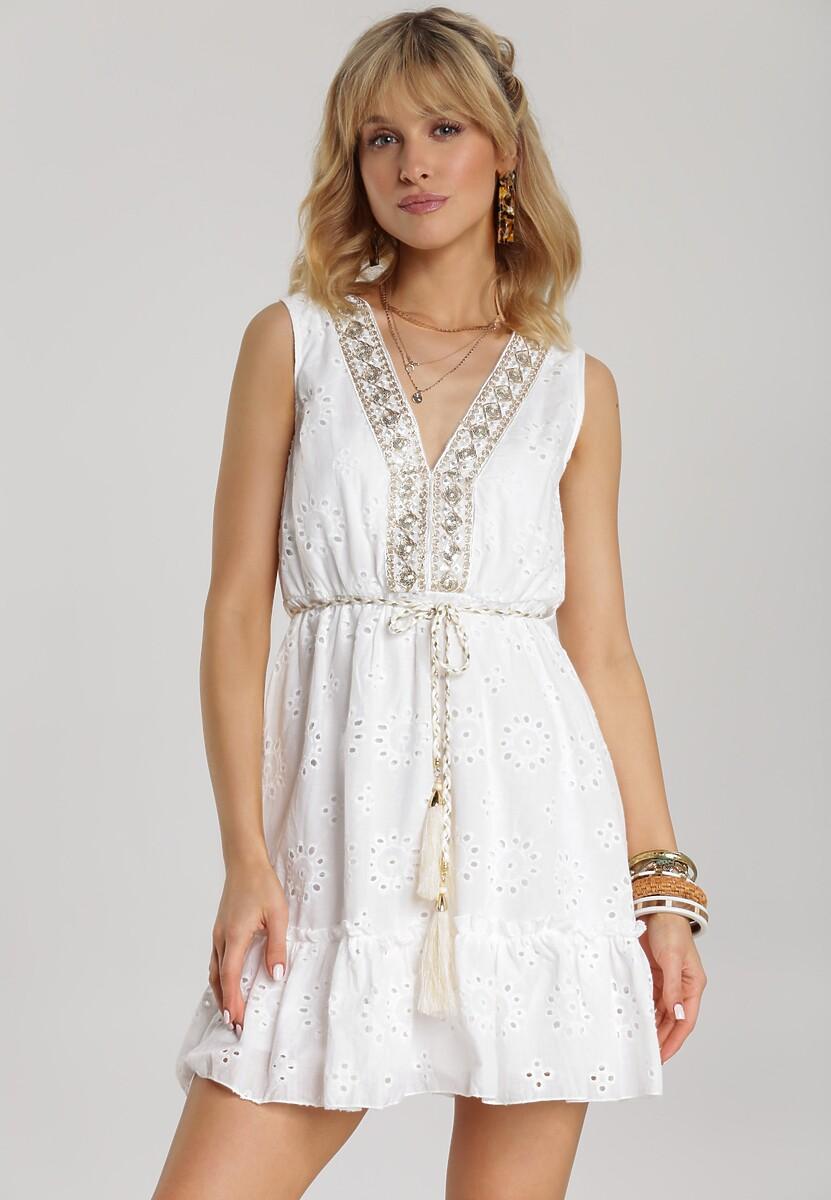 Biała Sukienka Arribel