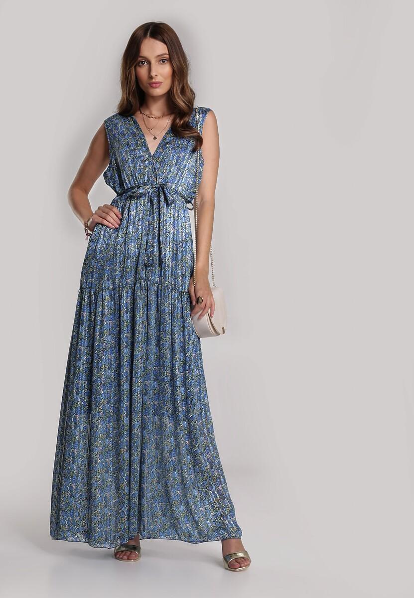 Granatowa Sukienka Jenylee