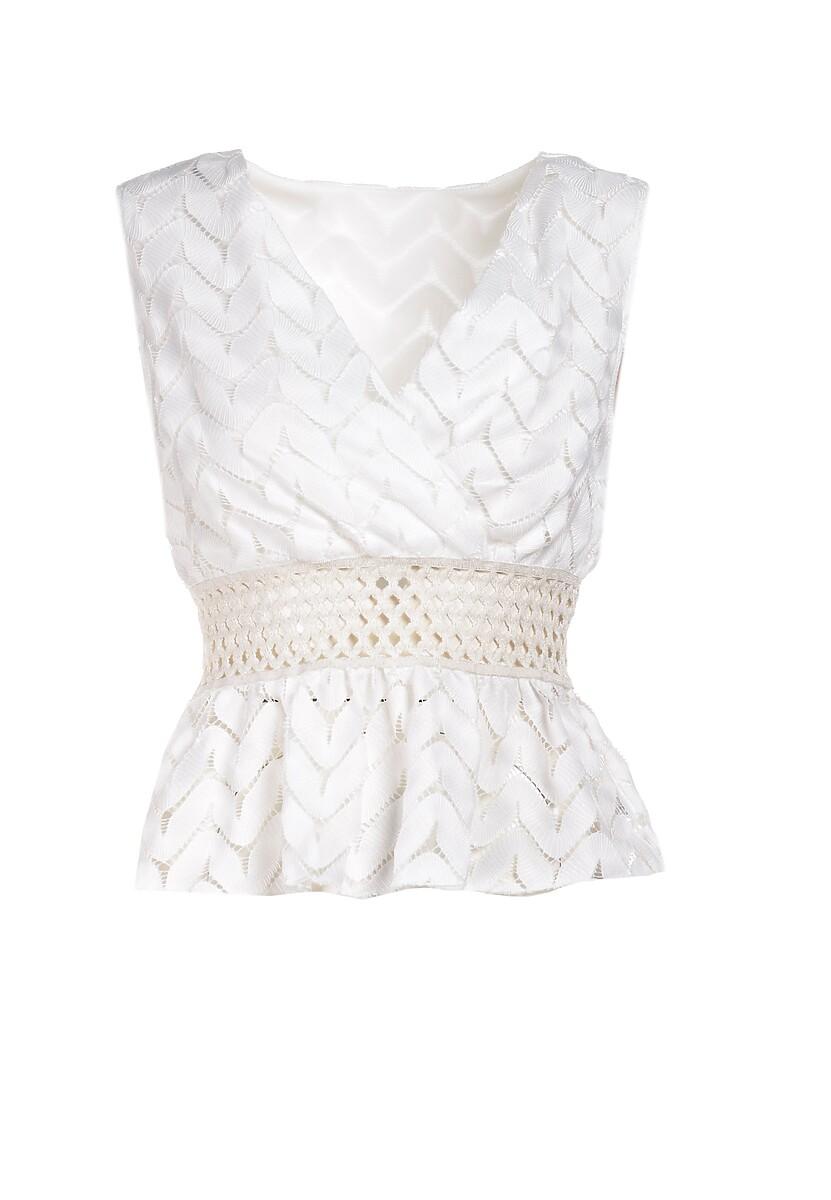 Biała Bluzka Vivineh