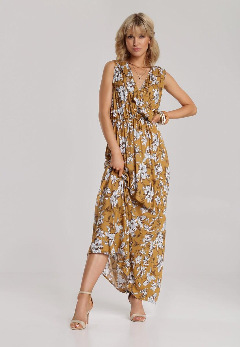 Żółta Sukienka Bolilea