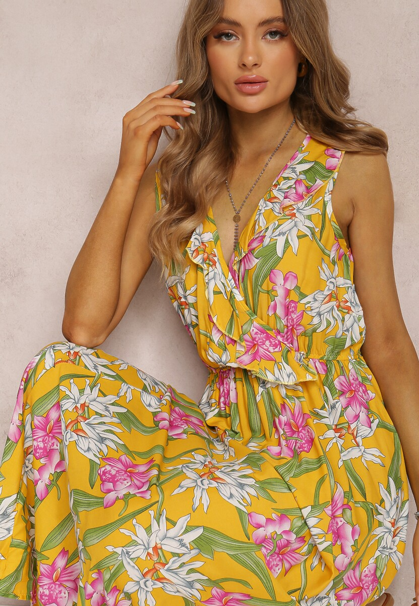 Żółta Sukienka Brily