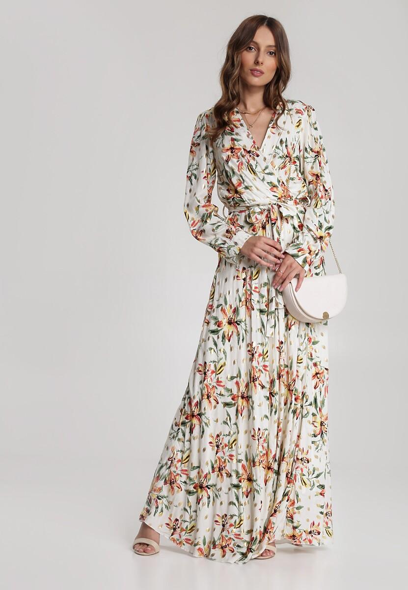 Biała Sukienka Daphinope