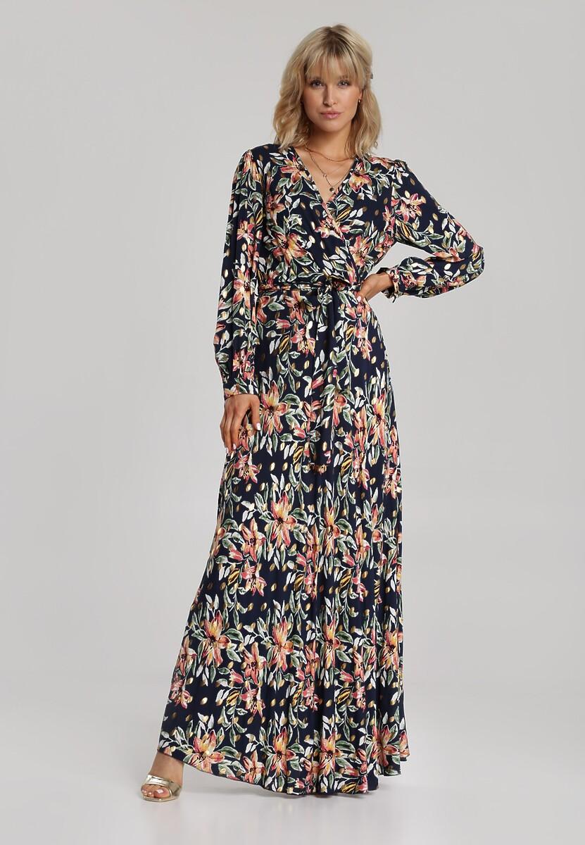 Granatowa Sukienka Daphinope