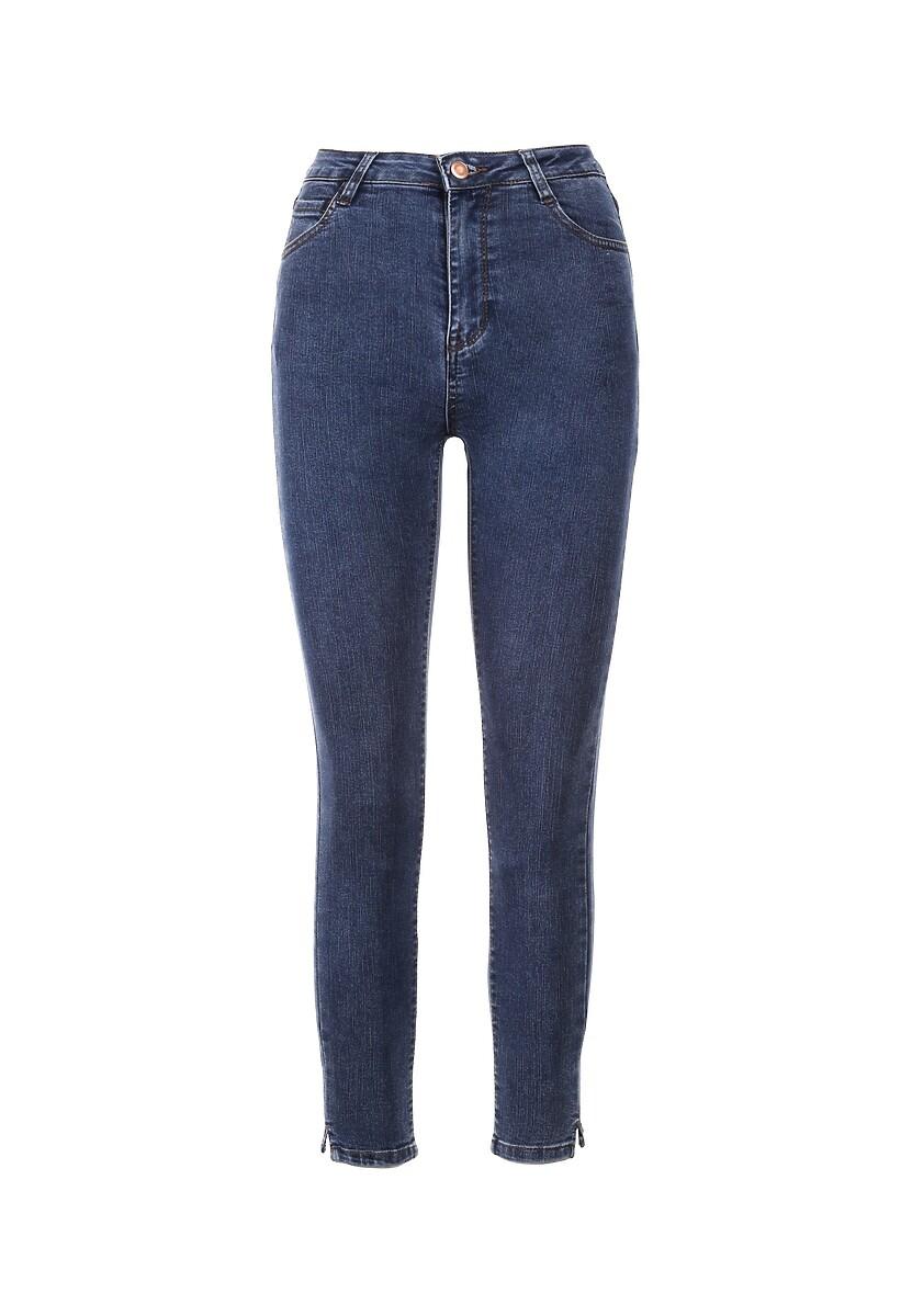 Niebieskie Jeansy Skinny Asteliana