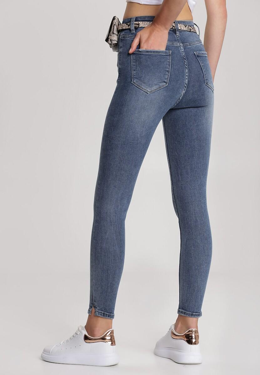 Niebieskie Jeansy Skinny Raelle