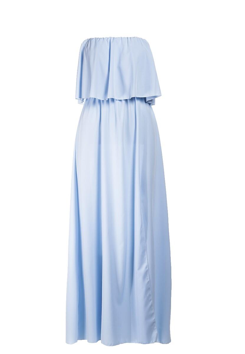 Jasnoniebieska Sukienka Sheive