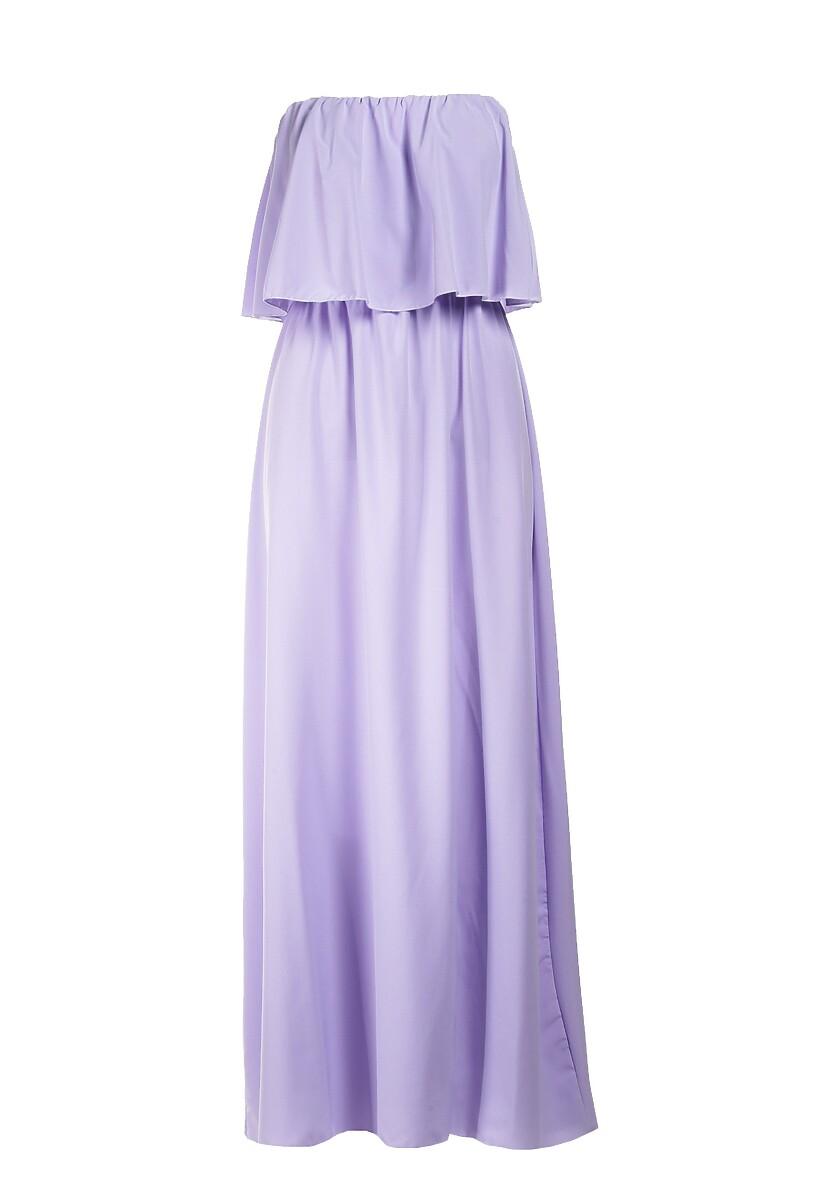 Lawendowa Sukienka Sheive