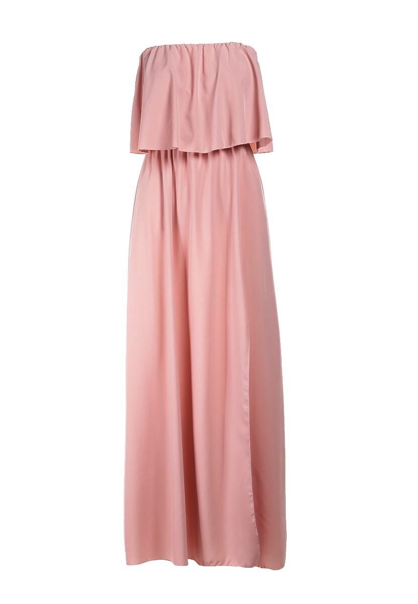 Jasnoróżowa Sukienka Sheive