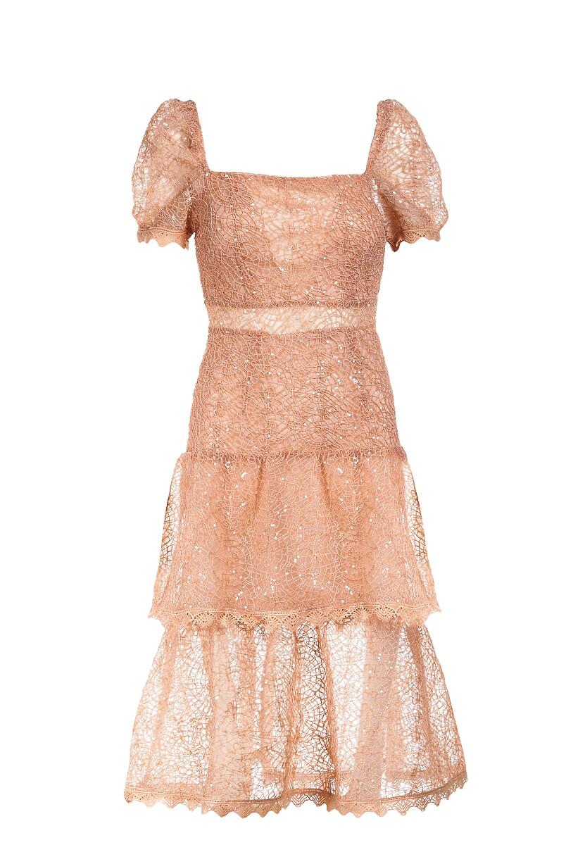 Łososiowa Sukienka Pheliana