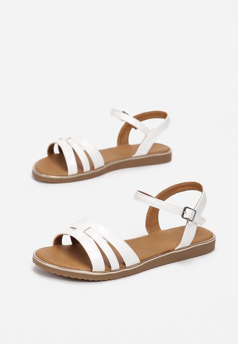 Białe Sandały Himia
