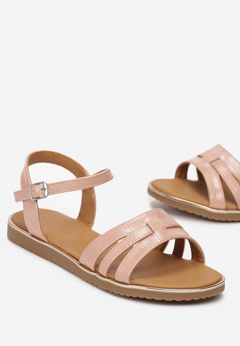 Różowe Sandały Himia