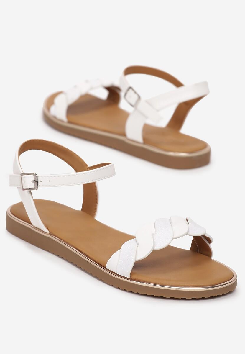 Białe Sandały Corraelure