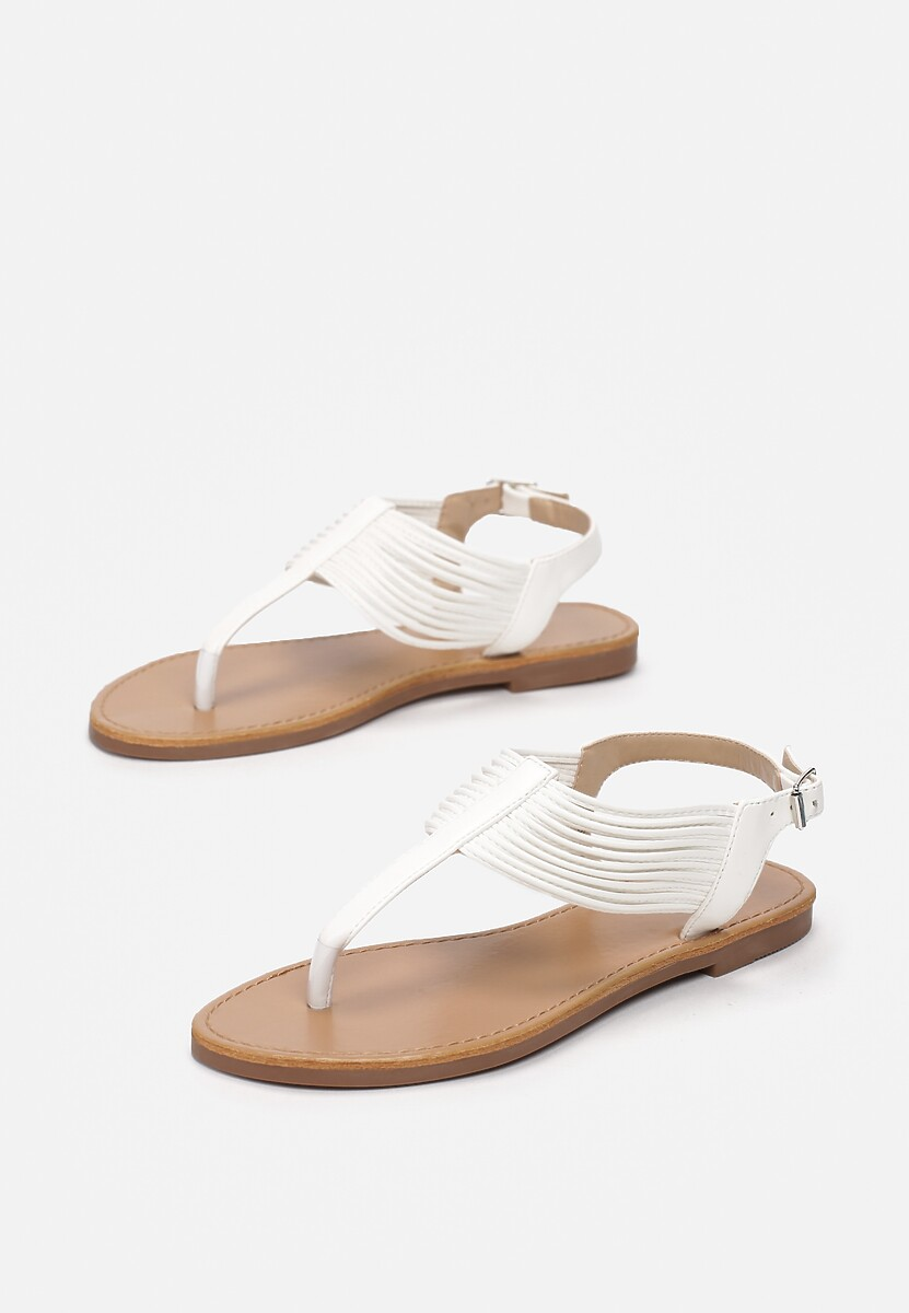 Białe Sandały Thonilyse