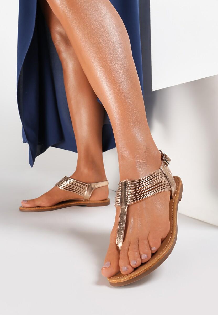 Szampańskie Sandały Thonilyse