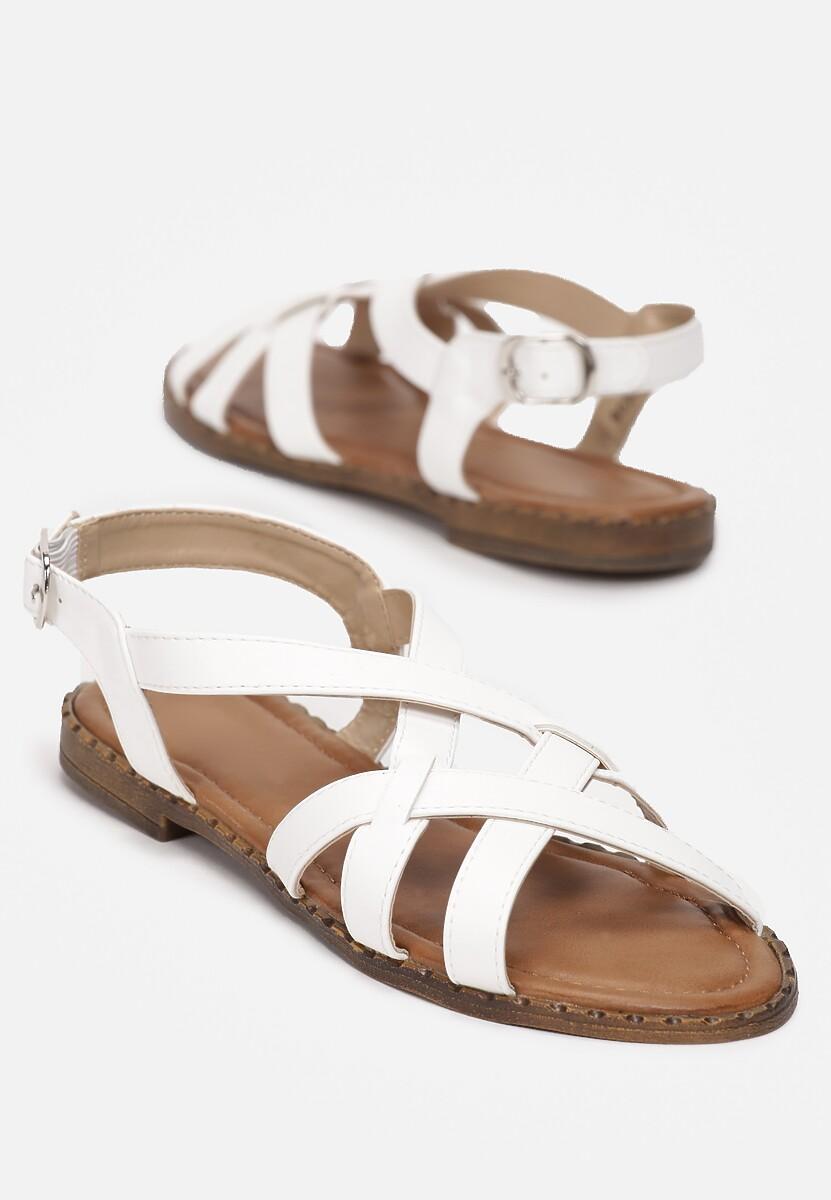 Białe Sandały Talolina