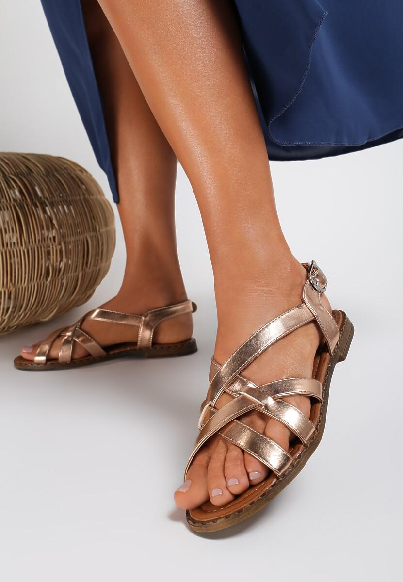 Szampańskie Sandały Talolina