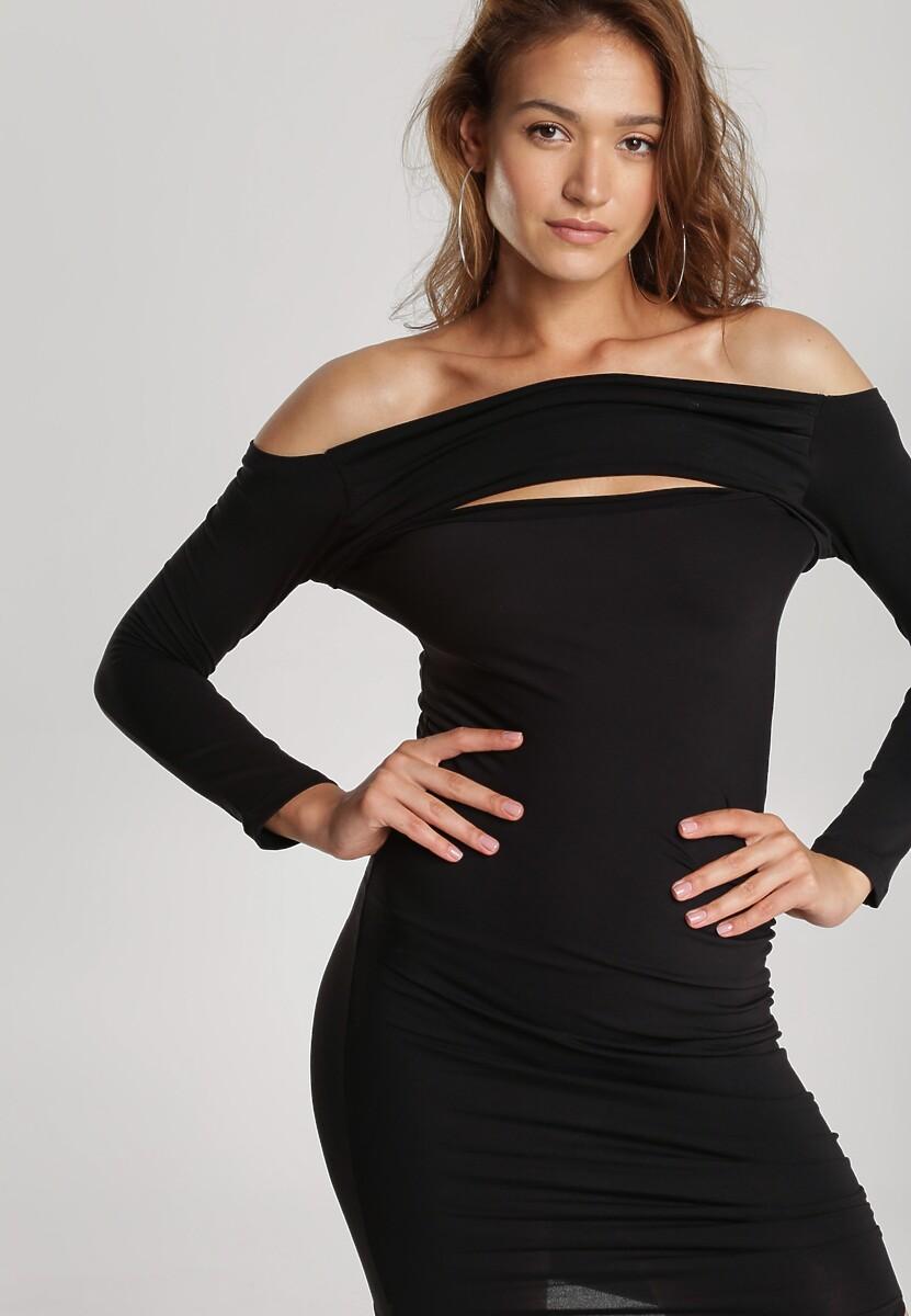 Czarna Sukienka Adriesana