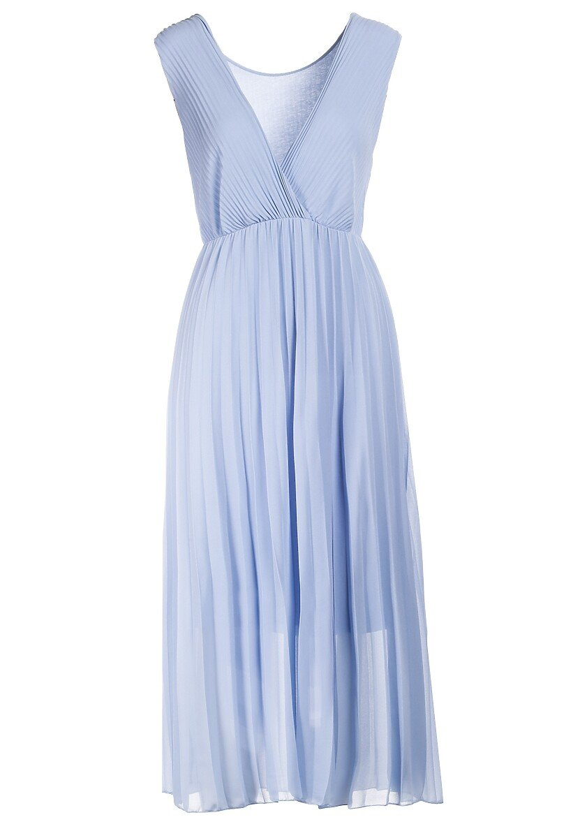 Niebieska Sukienka Laolinai