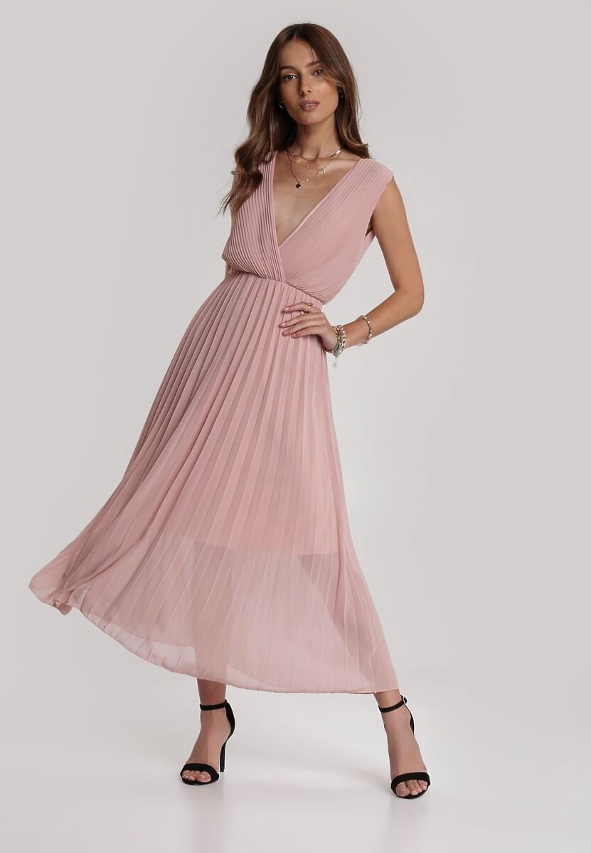 Różowa Sukienka Laolinai