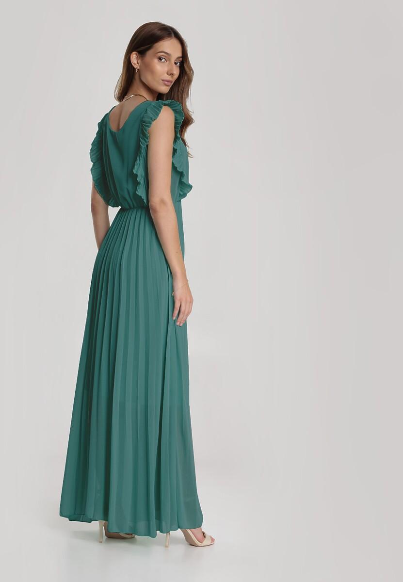 Miętowa Sukienka Aeleothusa