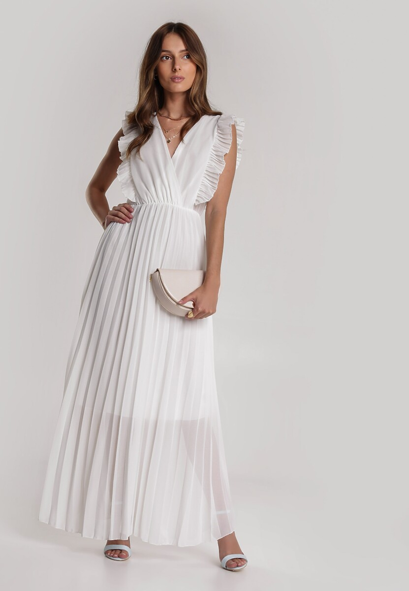 Biała Sukienka Aeleothusa