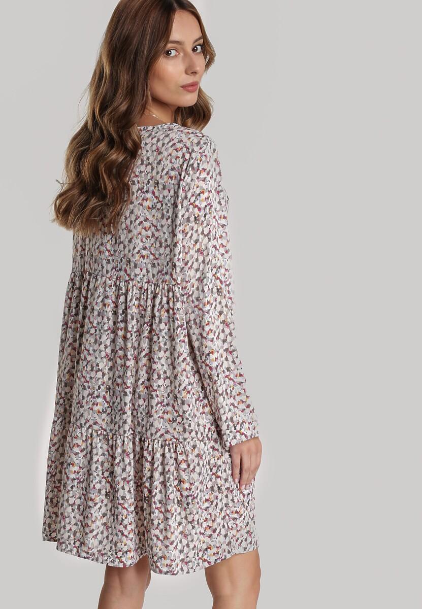 Szara Sukienka Genehaneh