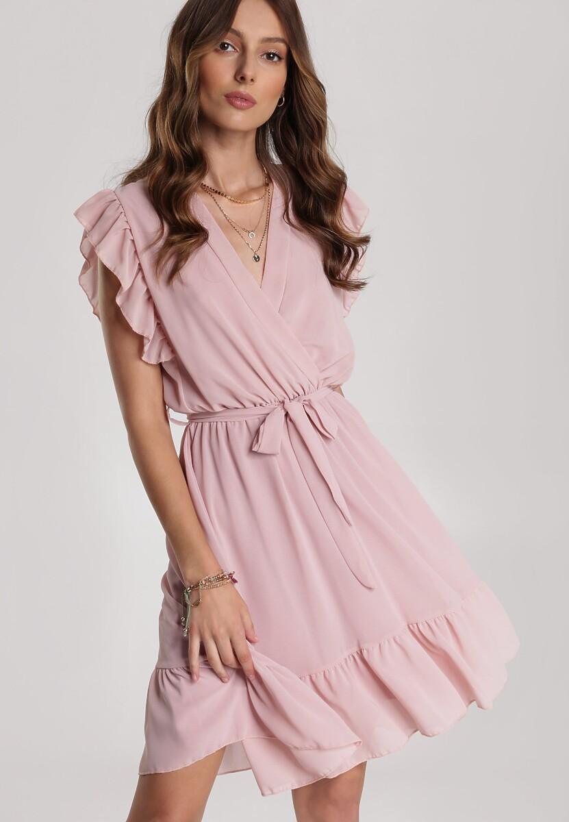 Różowa Sukienka Heliris