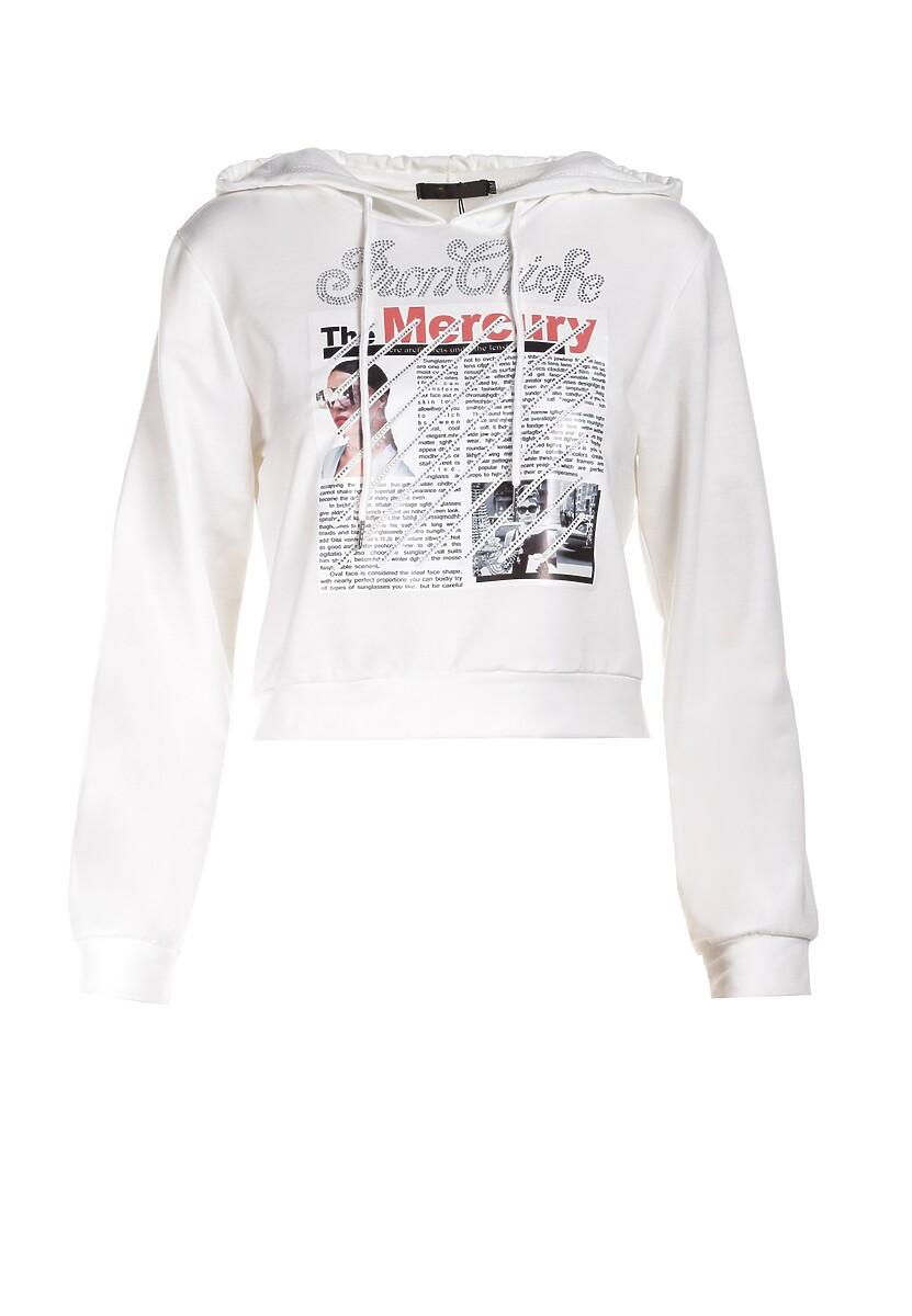 Biała Bluza Kelasis