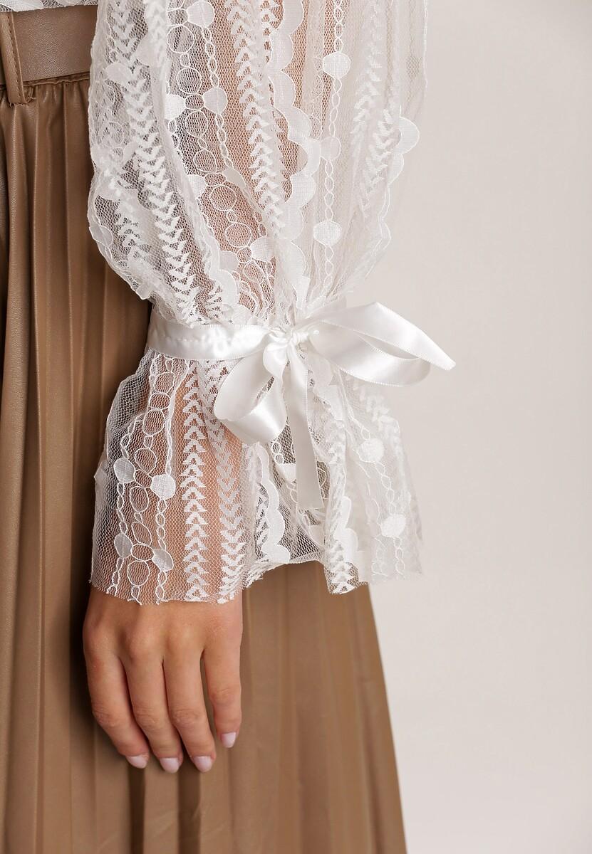 Biała Bluzka Malinelle