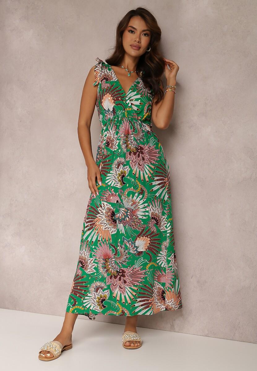 Zielona Sukienka Sabrimia