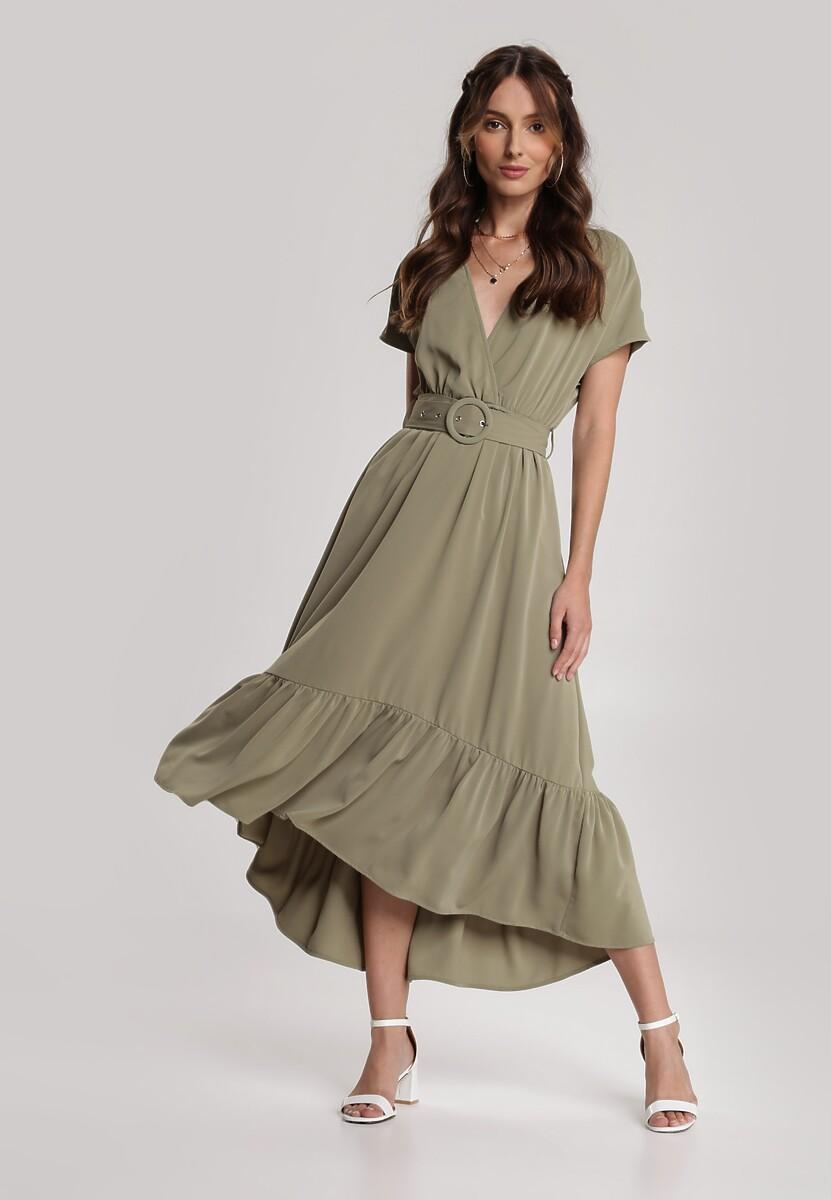 Zielona Sukienka Calligoria