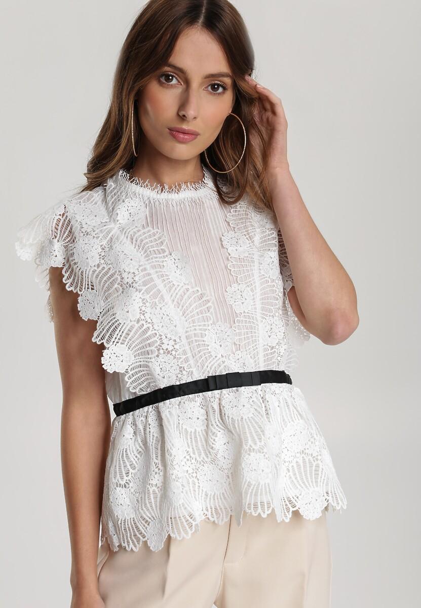Biała Bluzka Lorainey
