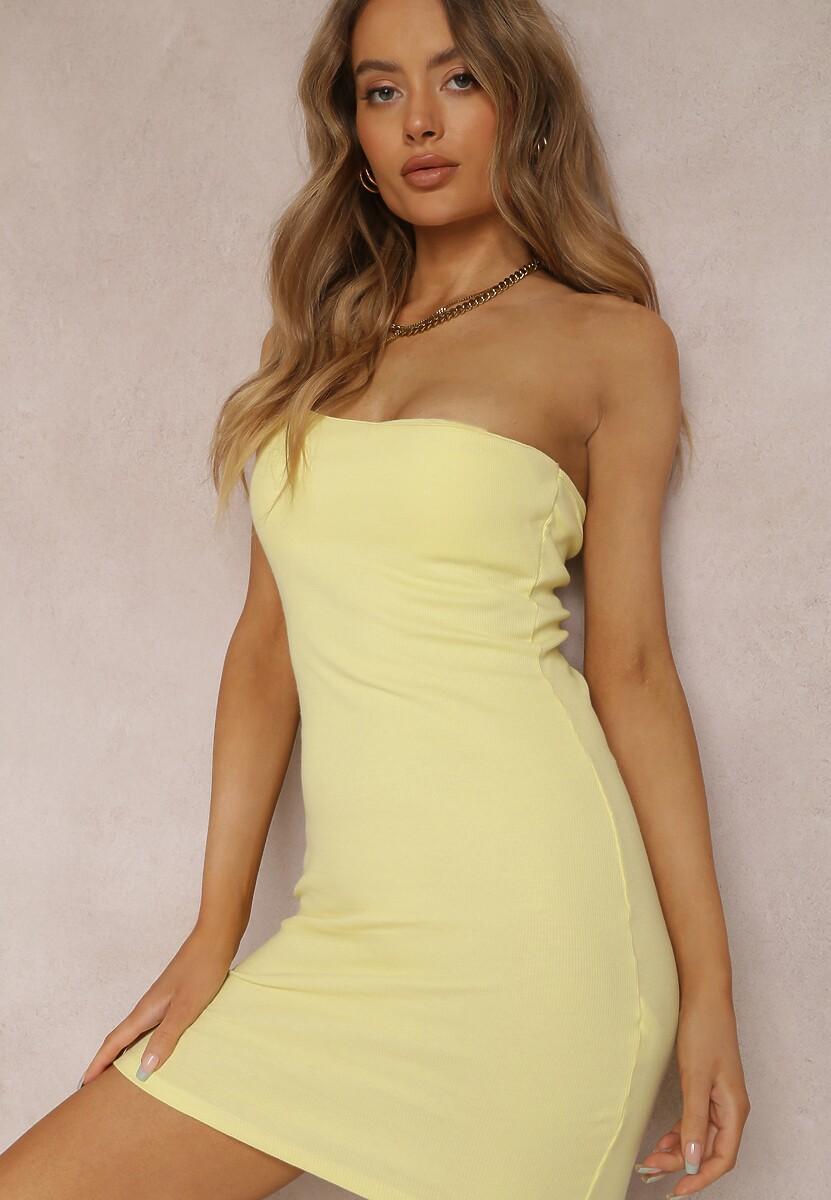 Żółta Sukienka Auraviane