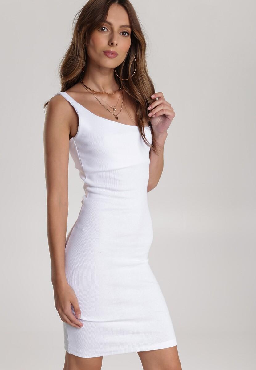 Biała Sukienka Auraviane
