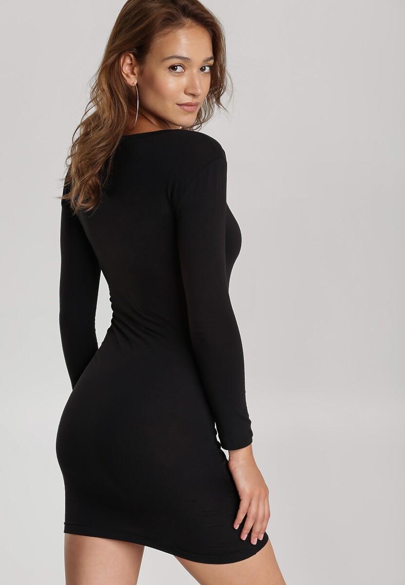 Czarna Sukienka Echonne