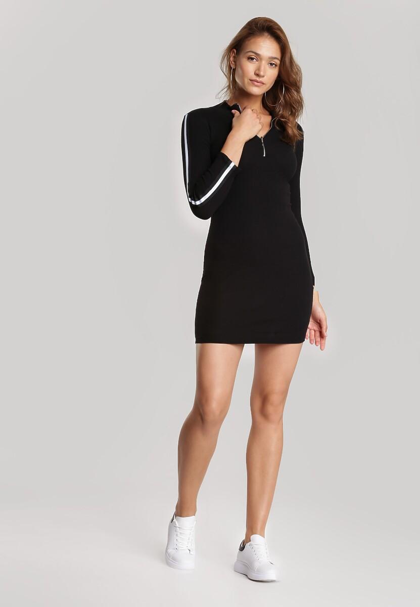 Czarna Sukienka Daphpeia