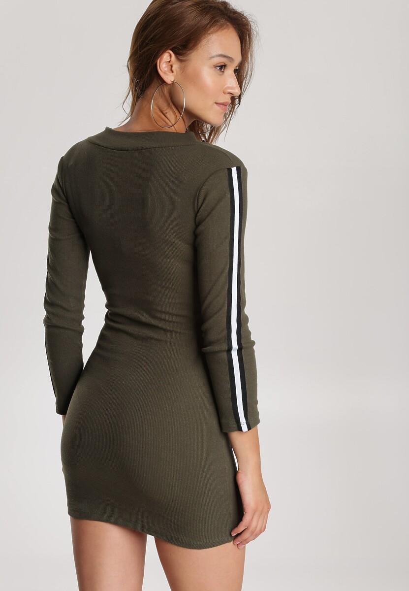 Khaki Sukienka Daphpeia