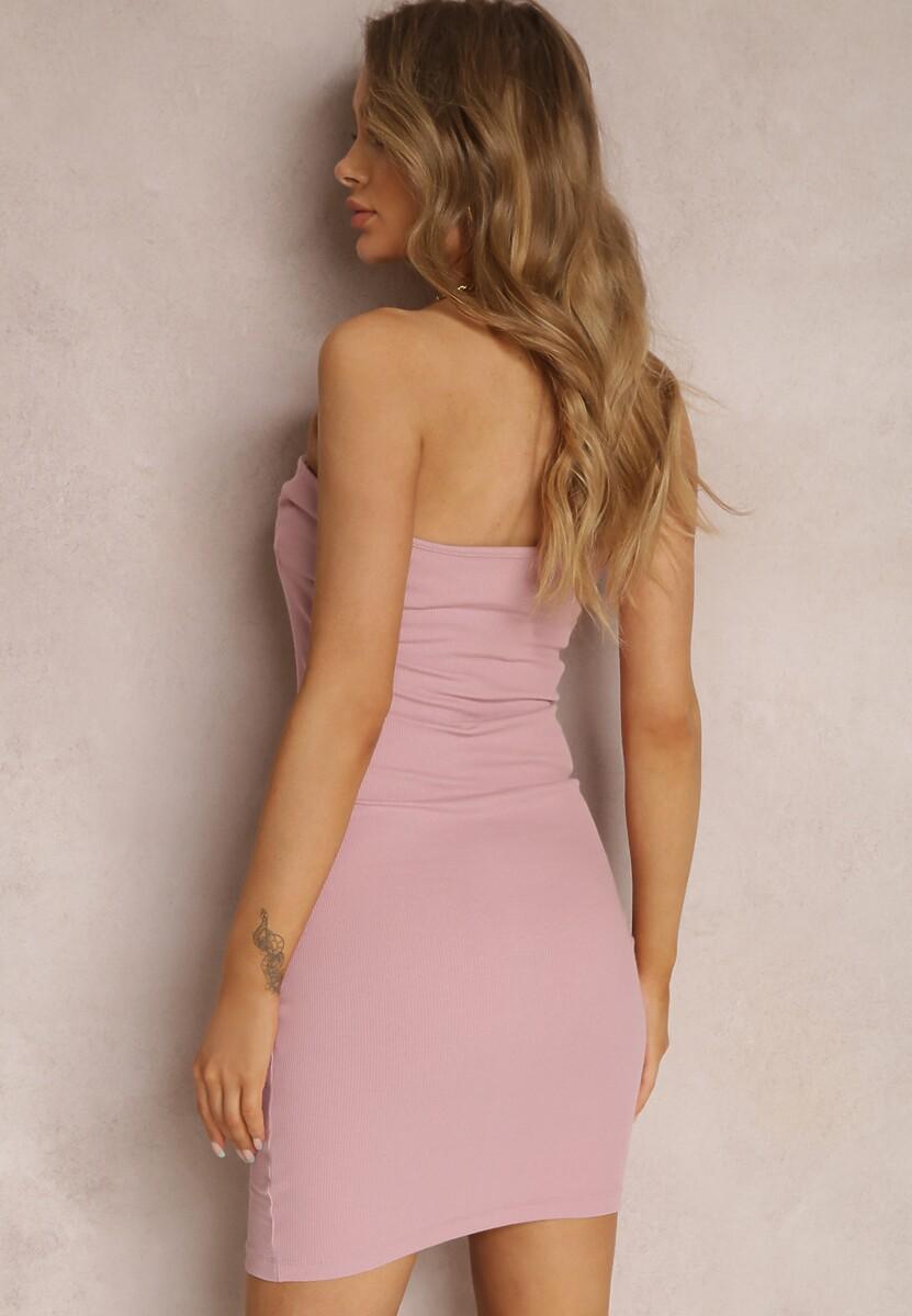 Różowa Sukienka Auraviane