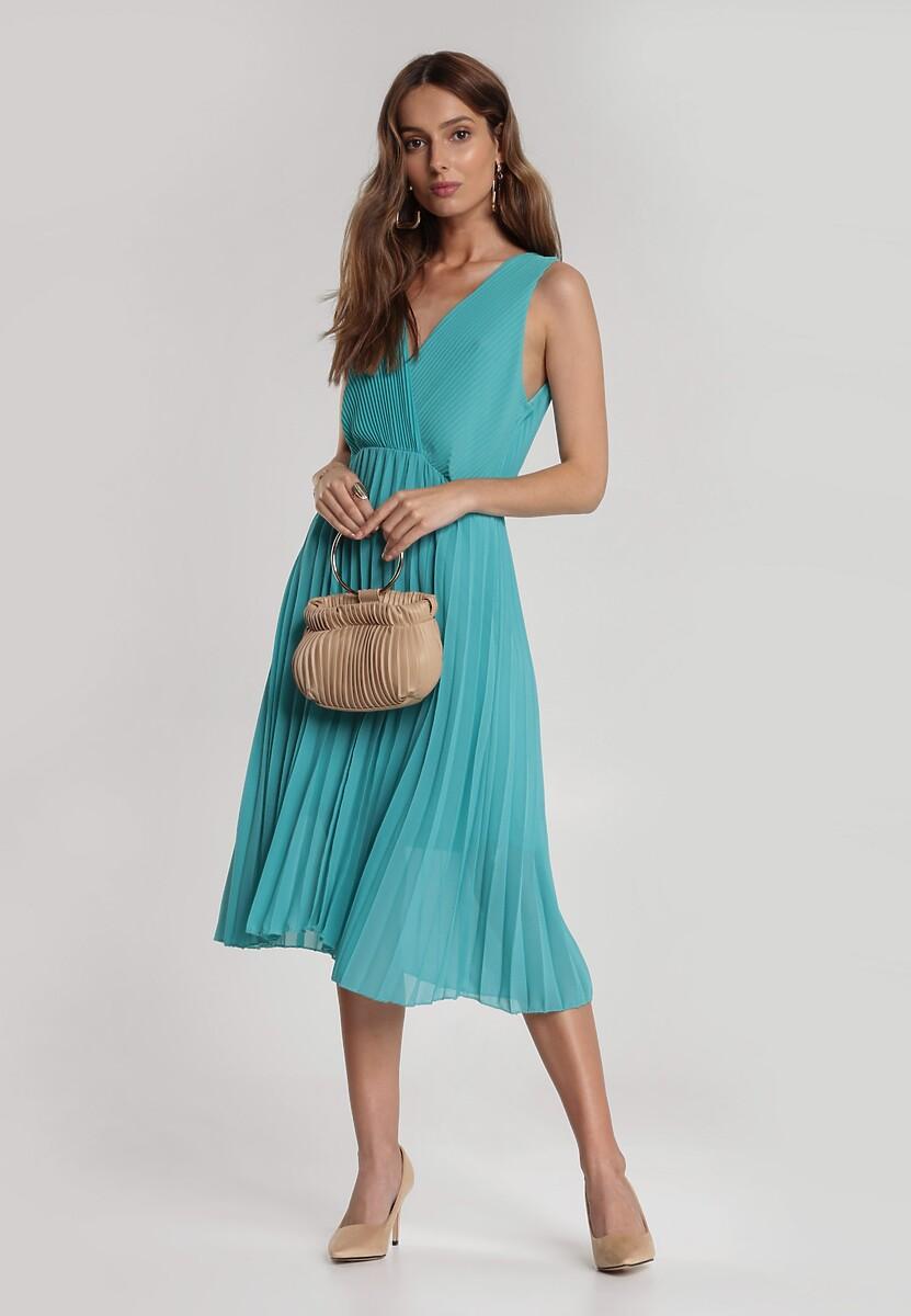 Zielona Sukienka Corimis