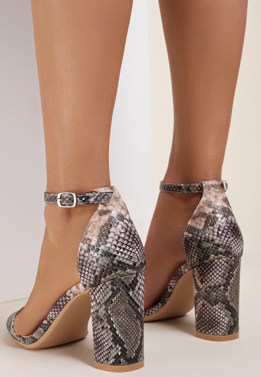 Khaki Sandały Saphadora
