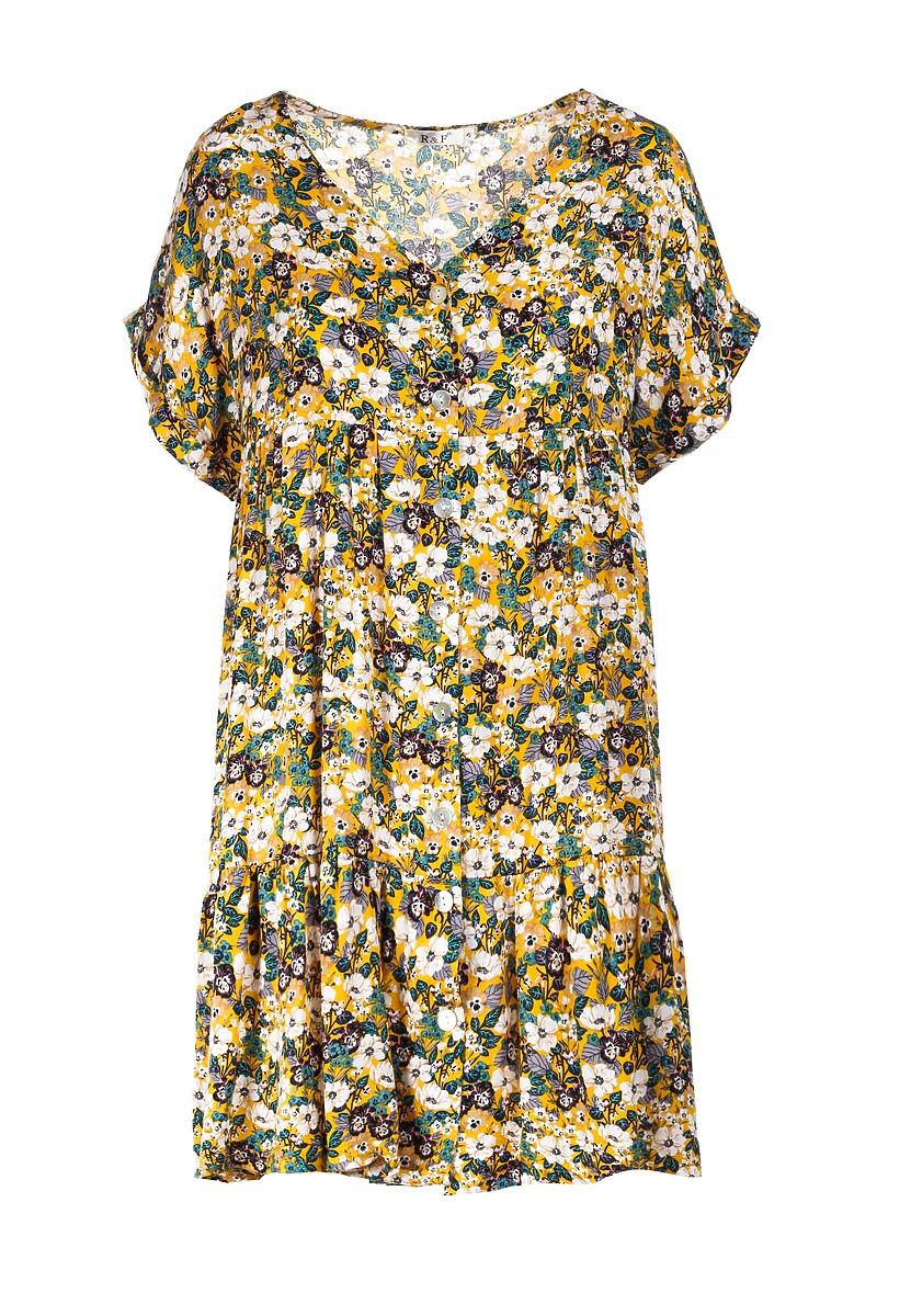 Żółta Sukienka Talolle