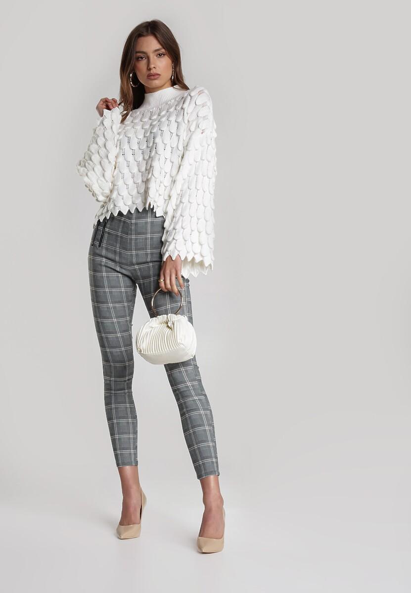Biały Sweter Delamala