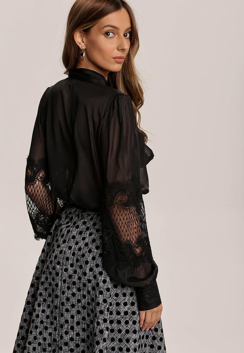 Czarna Bluzka Merinah