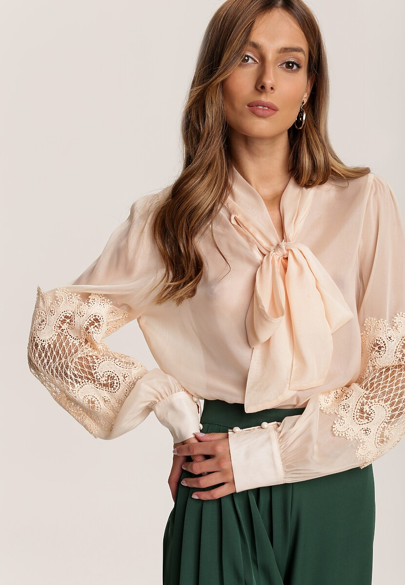 Beżowa Bluzka Merinah
