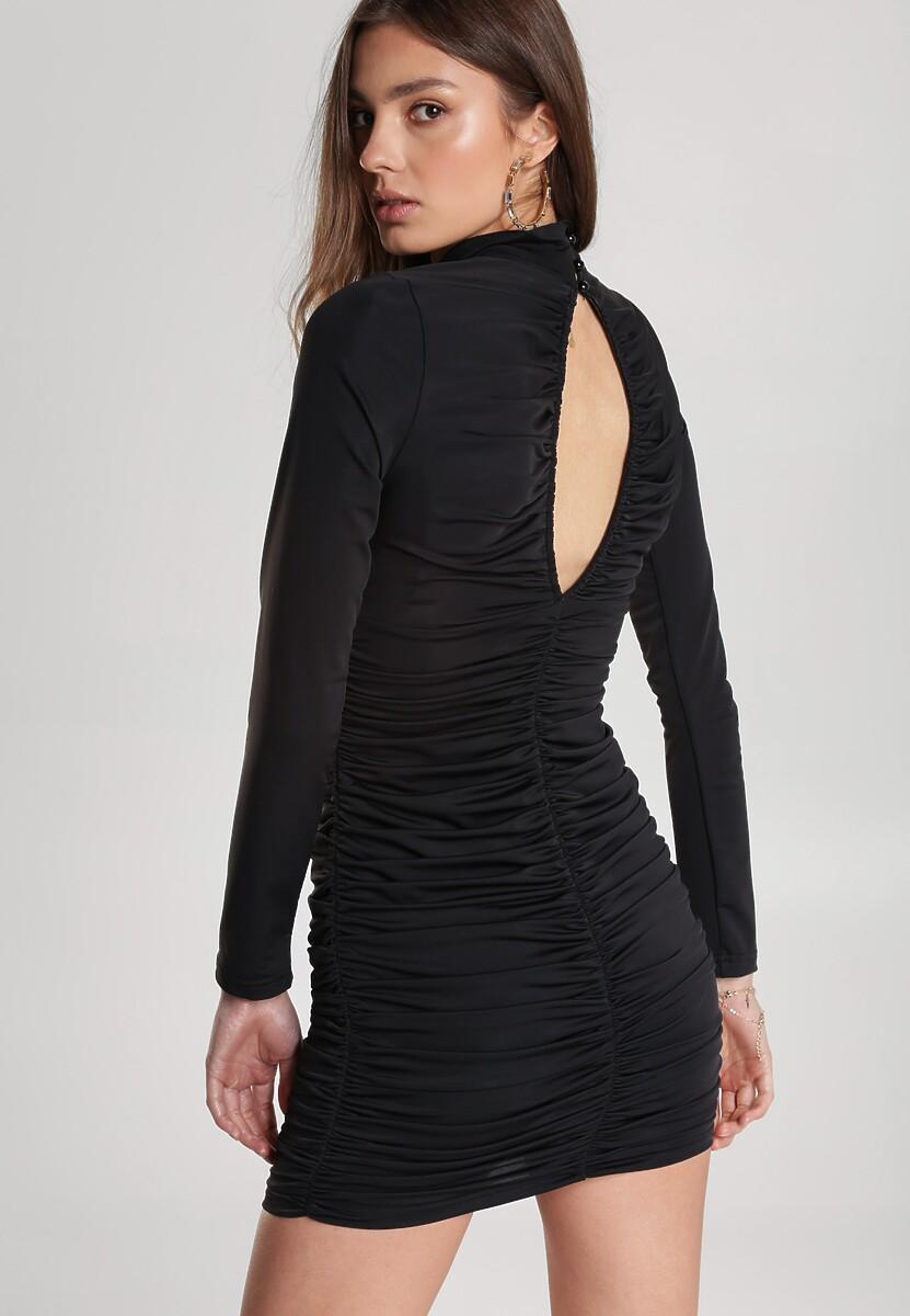 Czarna Sukienka Peisidanea