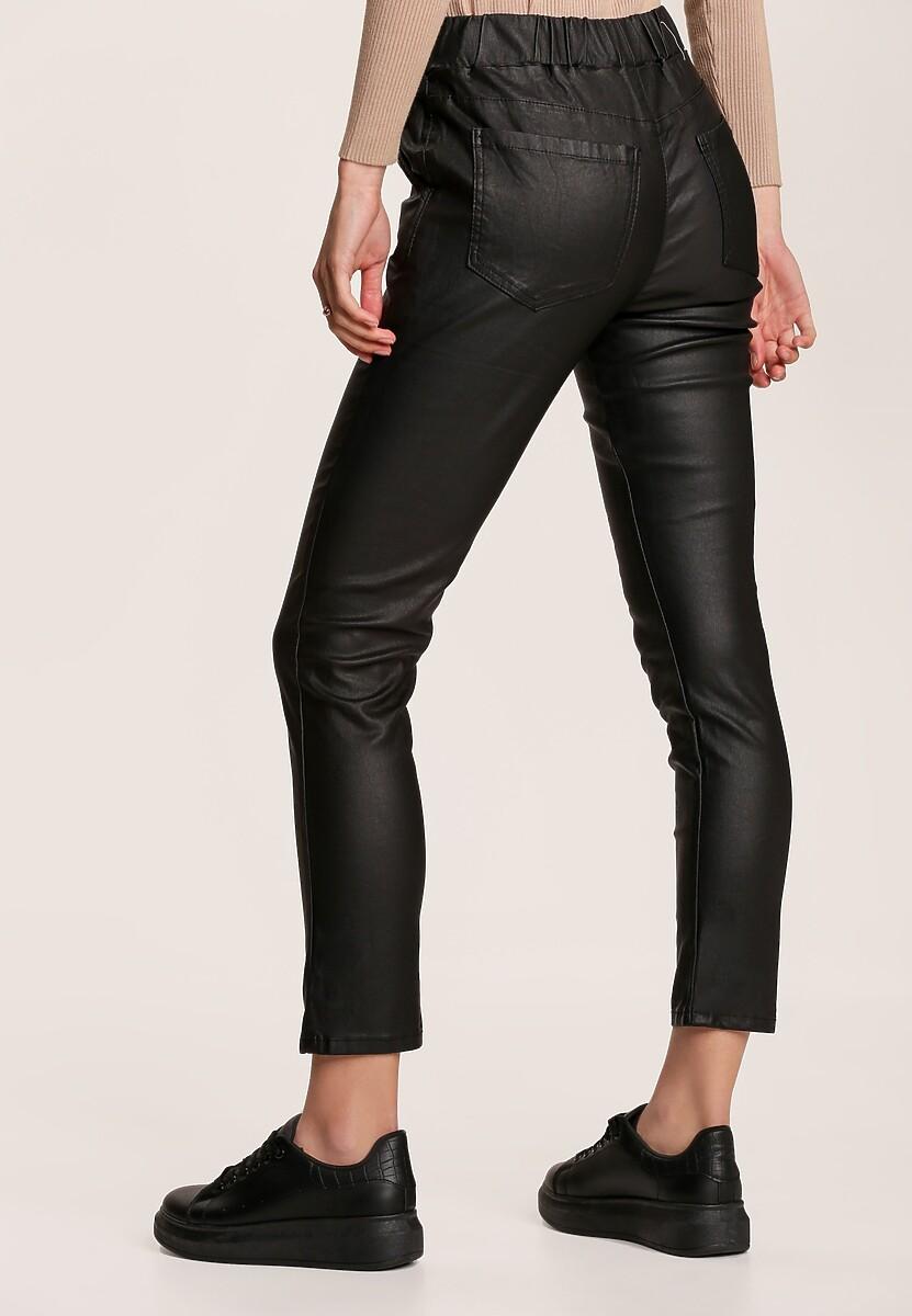 Czarne Spodnie Slim Phidorise