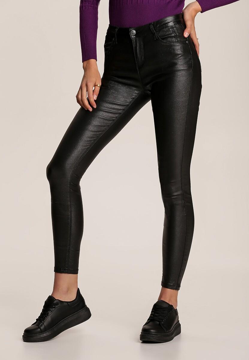 Czarne Spodnie Skinny Yanoe