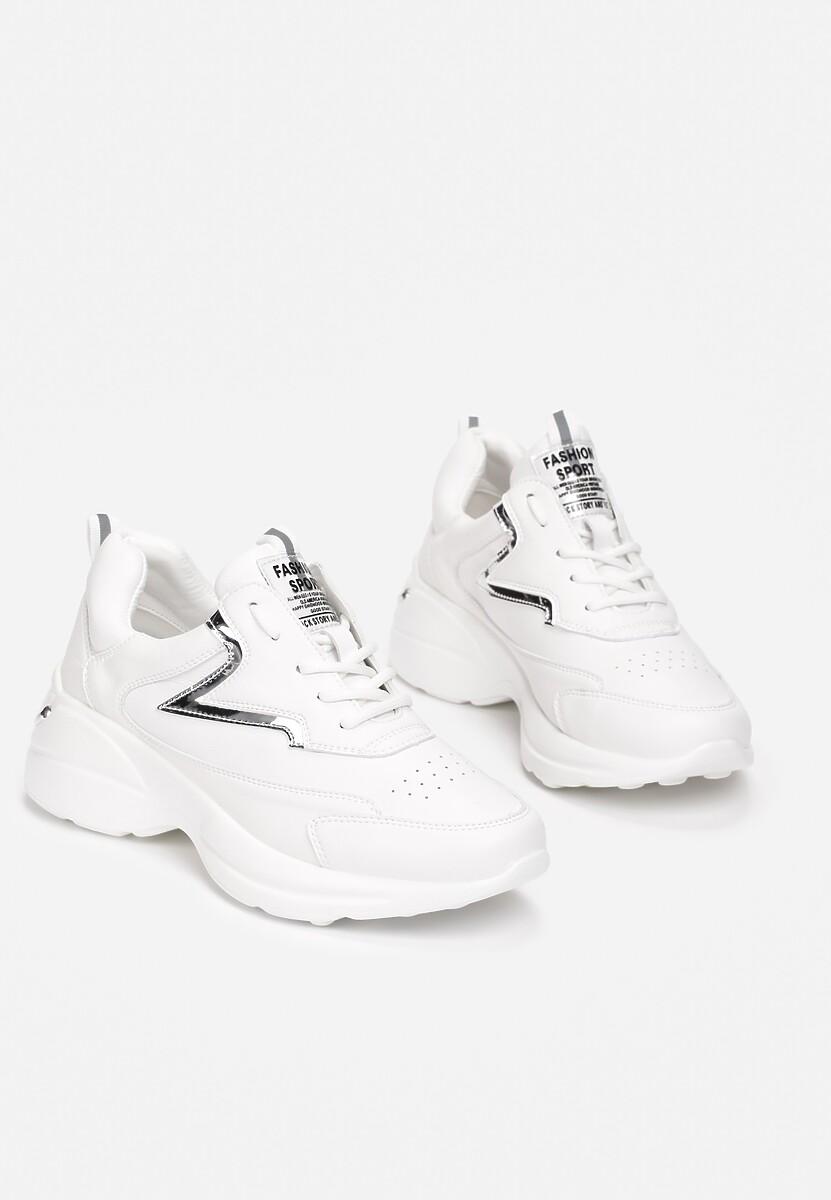 Białe Sneakersy Xylless