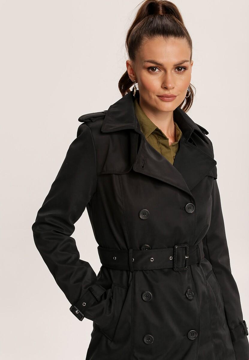 Czarny Płaszcz Rosella